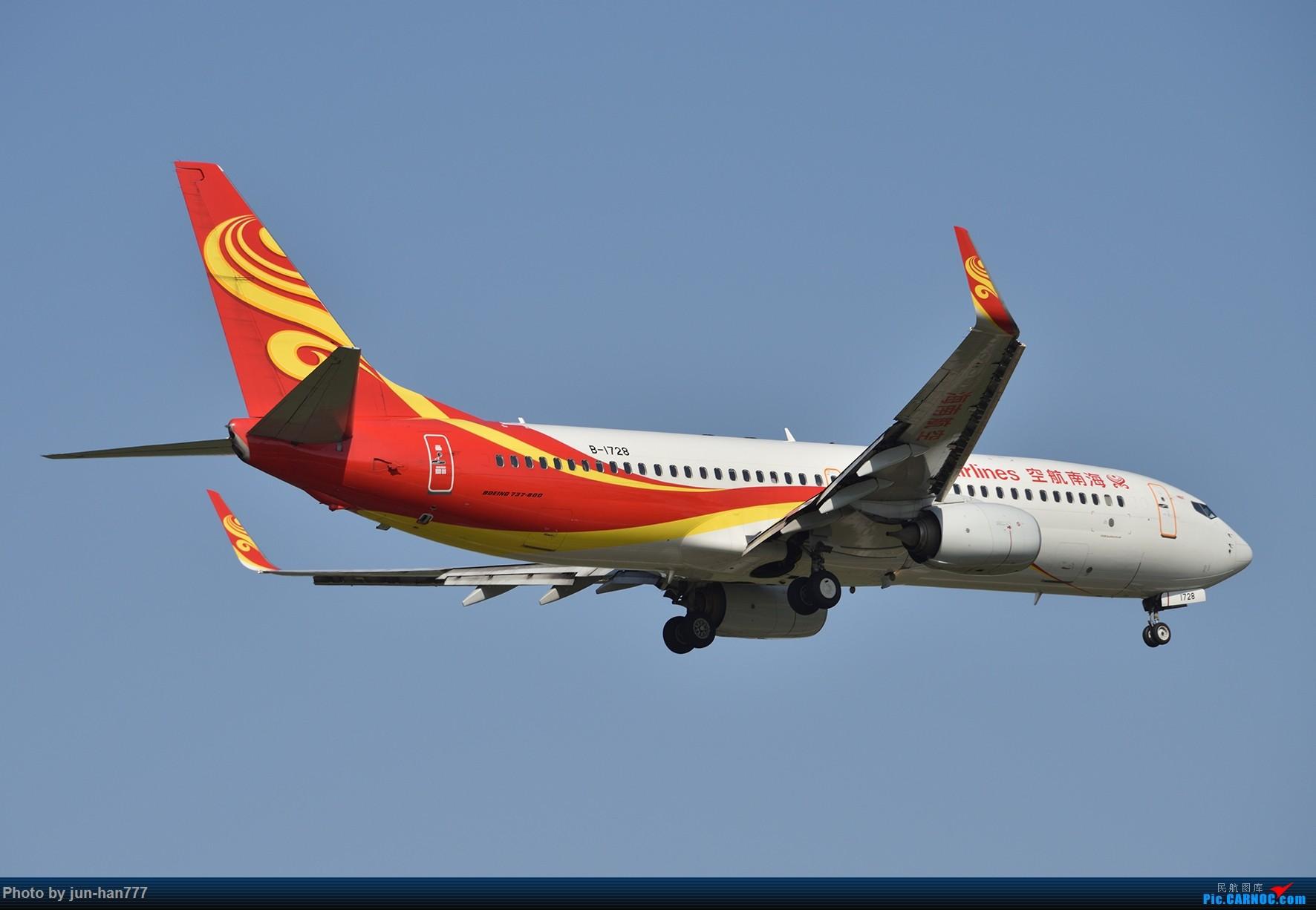 Re:[原创]PVG 很是有点伤感也许以后不会再常来拍机了 BOEING 737-800 B-1728