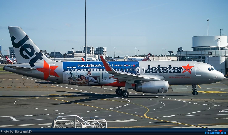 Re:[原创]SYD 杂图几张 T2航站楼 A320-200 VH-VFU 澳大利亚悉尼金斯福德·史密斯机场