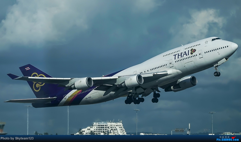 Re:[原创]SYD 杂图几张 T2航站楼 BOEING 747-400 HS-TGF 澳大利亚悉尼金斯福德·史密斯机场