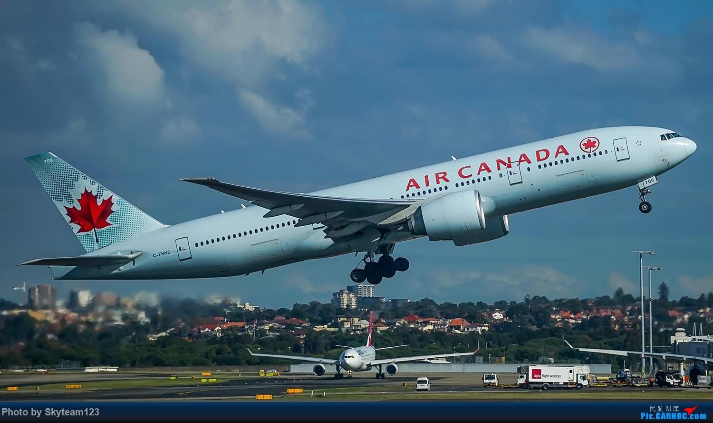 Re:[原创]SYD 杂图几张 T2航站楼 BOEING 777-200LR C-FNND 澳大利亚悉尼金斯福德·史密斯机场
