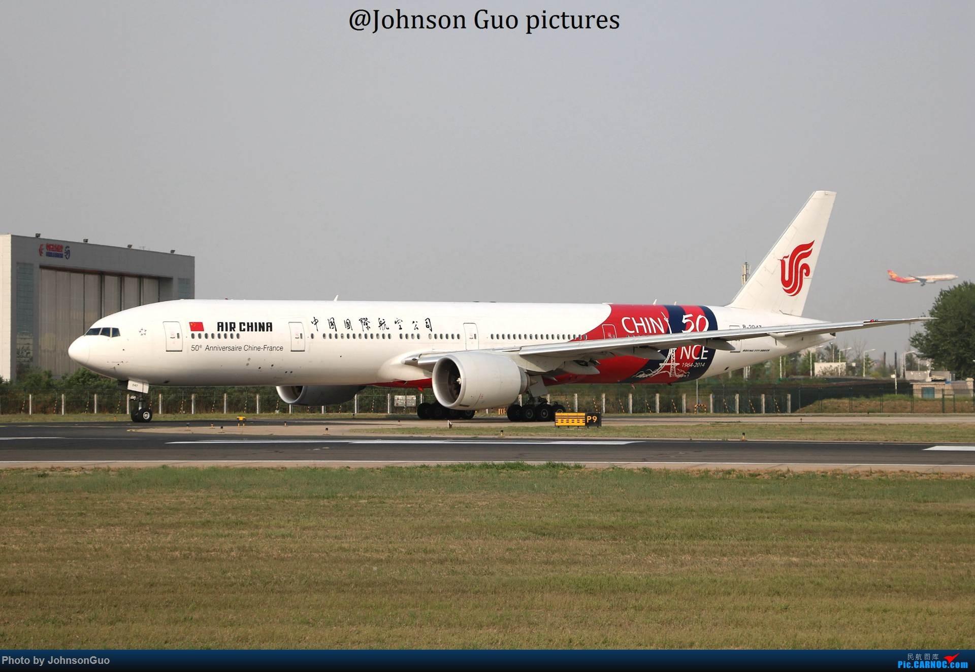 Re:B-2047 中国国际航空 中法建交号彩绘 BOEING 777-300ER B-2047 中国北京首都国际机场