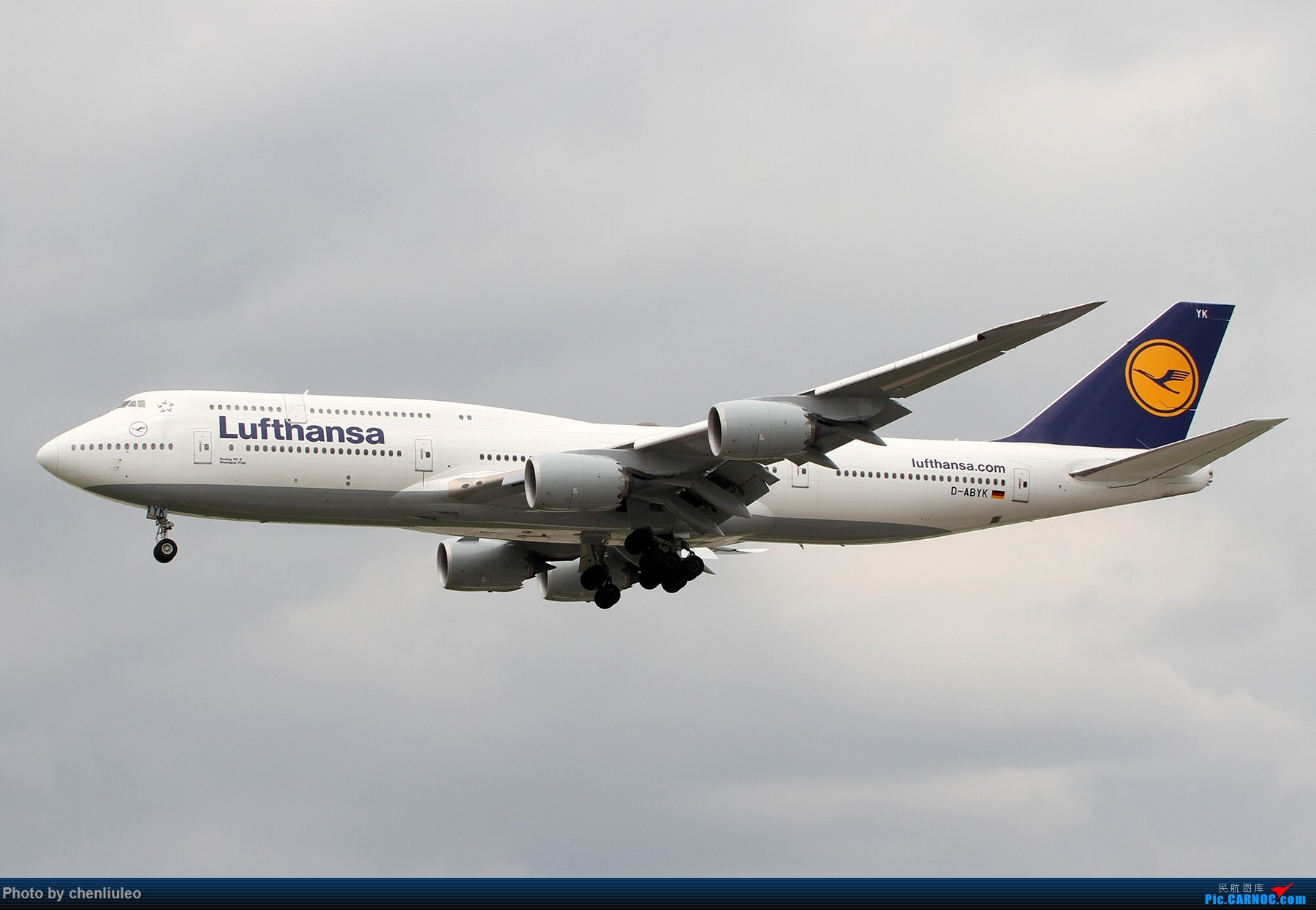 Re:[原创]【北美飞友会】芝加哥奥黑尔机场首拍 BOEING 747-8I D-ABYK 美国芝加哥奥黑尔国际机场