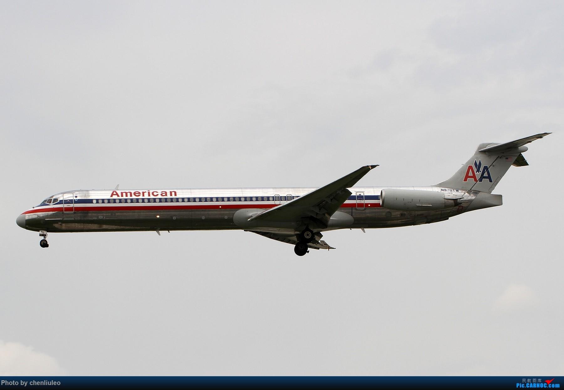 Re:[原创]【北美飞友会】芝加哥奥黑尔机场首拍 MD MD-80-83 N970TW 美国芝加哥奥黑尔国际机场