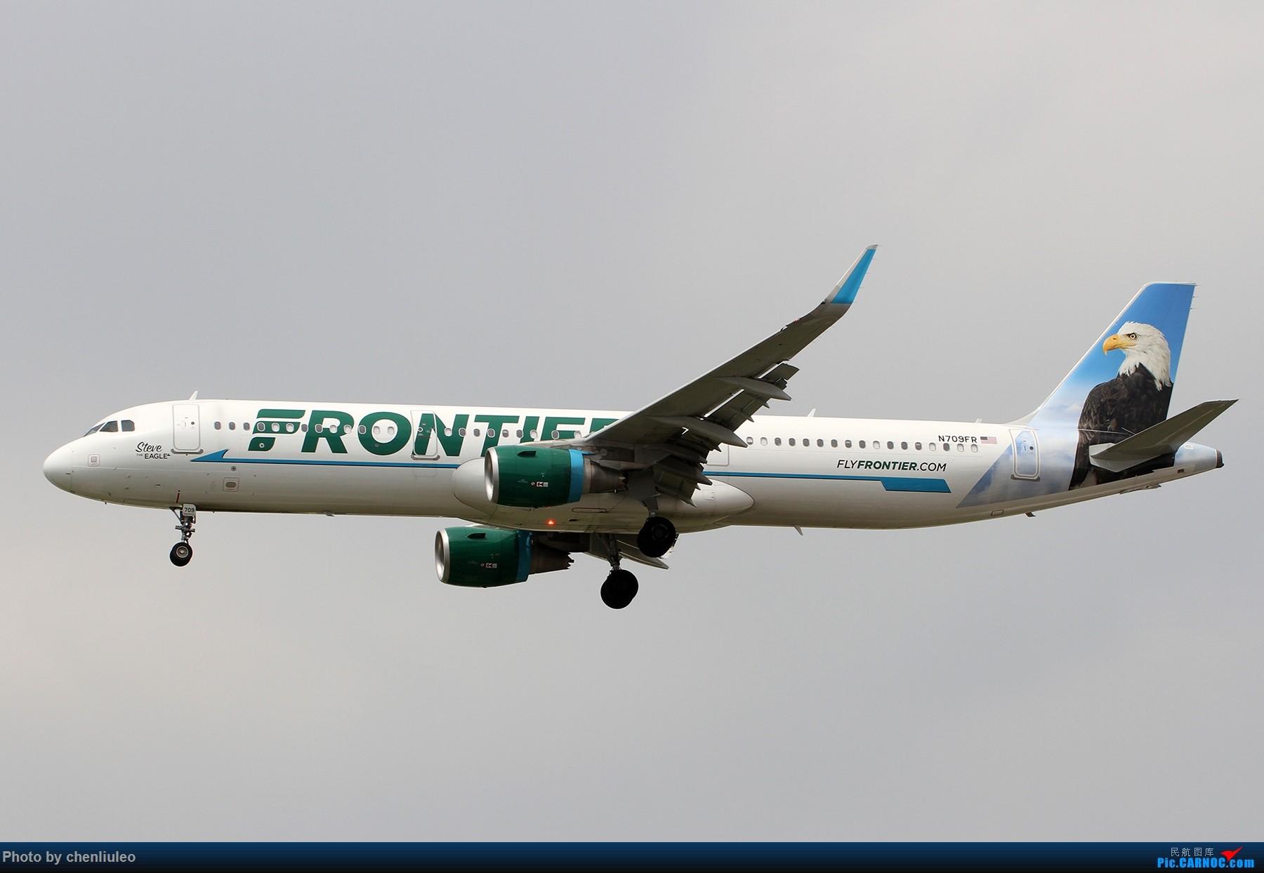 Re:[原创]【北美飞友会】芝加哥奥黑尔机场首拍 AIRBUS A321-200 N709FR 美国芝加哥奥黑尔国际机场