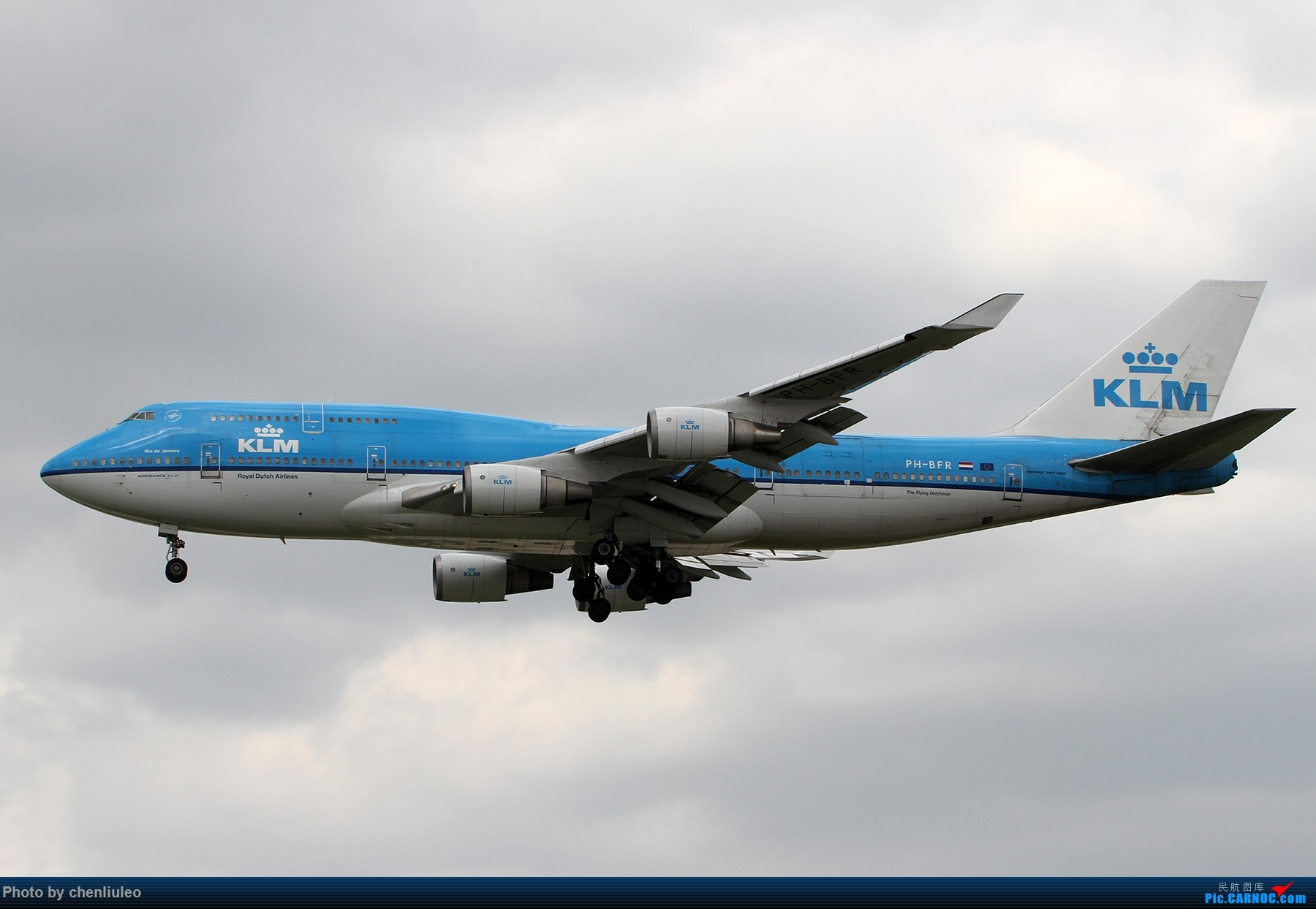 Re:[原创]【北美飞友会】芝加哥奥黑尔机场首拍 BOEING 747-400M PH-BFR 美国芝加哥奥黑尔国际机场