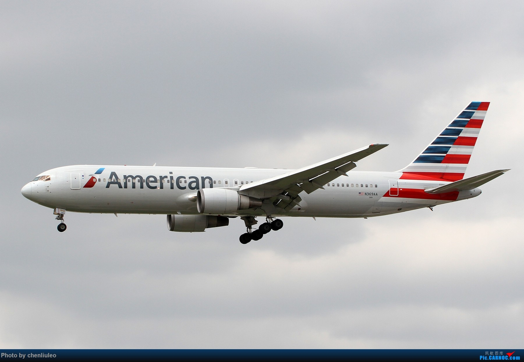 Re:[原创]【北美飞友会】芝加哥奥黑尔机场首拍 BOEING 767-300ER N369AA 美国芝加哥奥黑尔国际机场