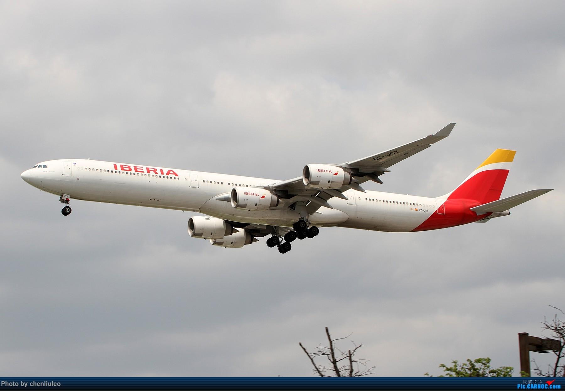 Re:[原创]【北美飞友会】芝加哥奥黑尔机场首拍 AIRBUS A340-600 EC-JCY 美国芝加哥奥黑尔国际机场