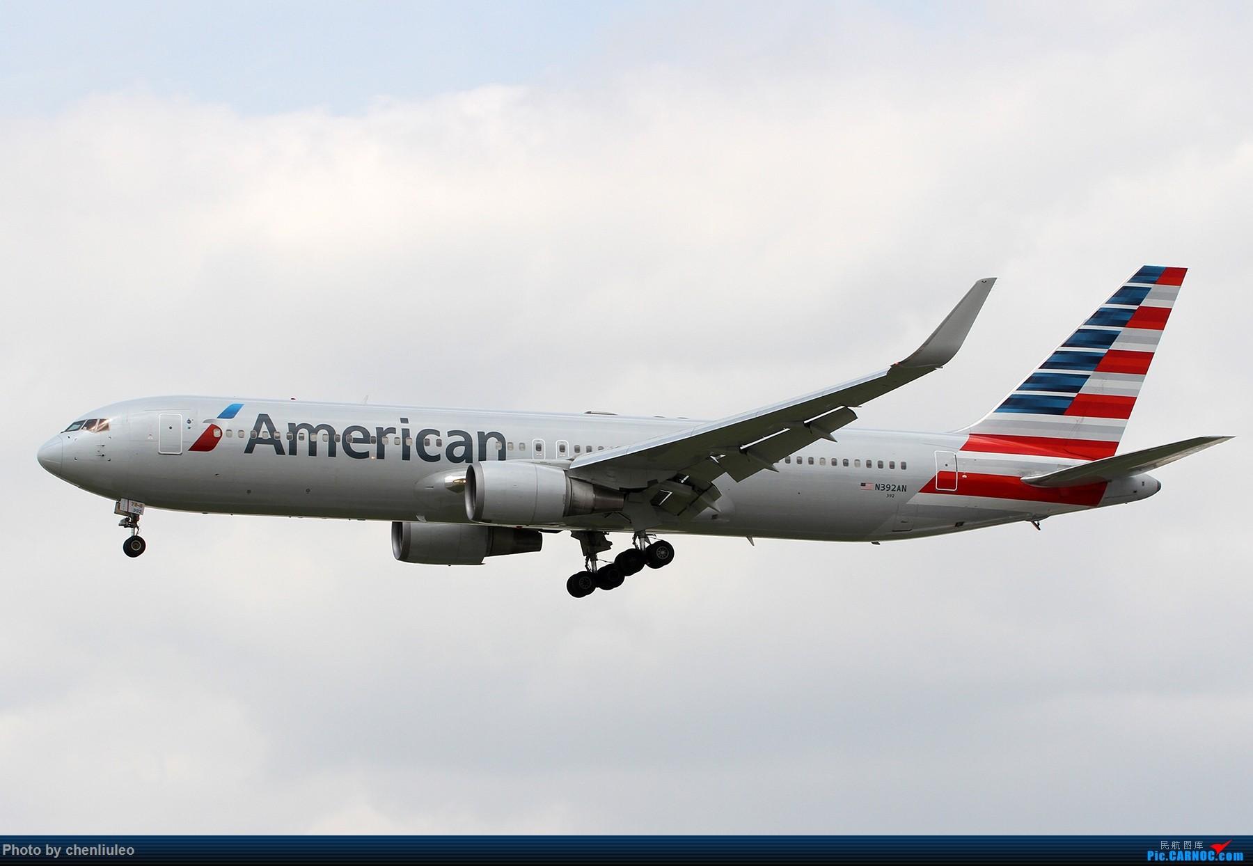 Re:[原创]【北美飞友会】芝加哥奥黑尔机场首拍 BOEING 767-300ER N392AN 美国芝加哥奥黑尔国际机场