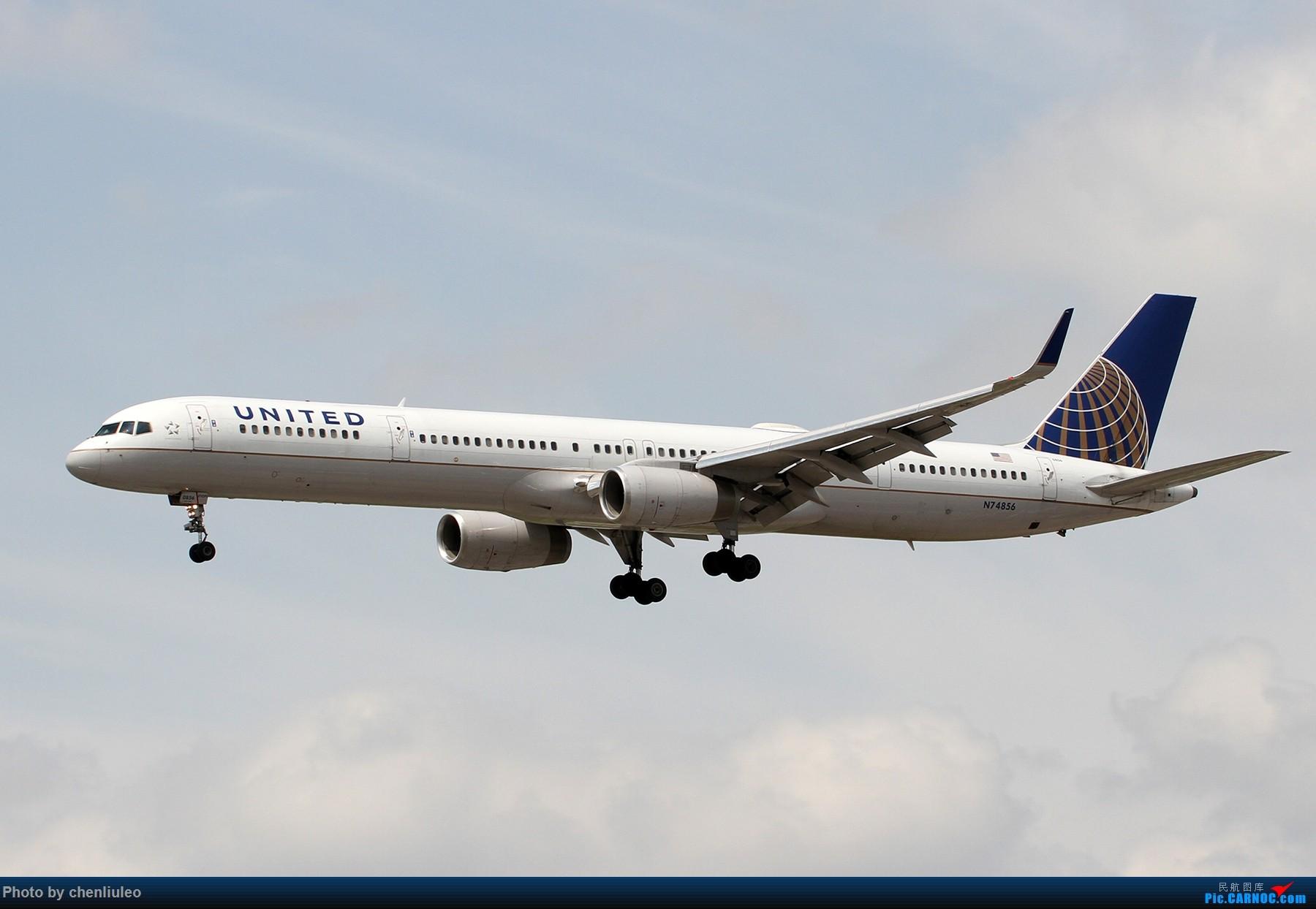 Re:【北美飞友会】芝加哥奥黑尔机场首拍 BOEING 757-300 N74856 美国芝加哥奥黑尔国际机场