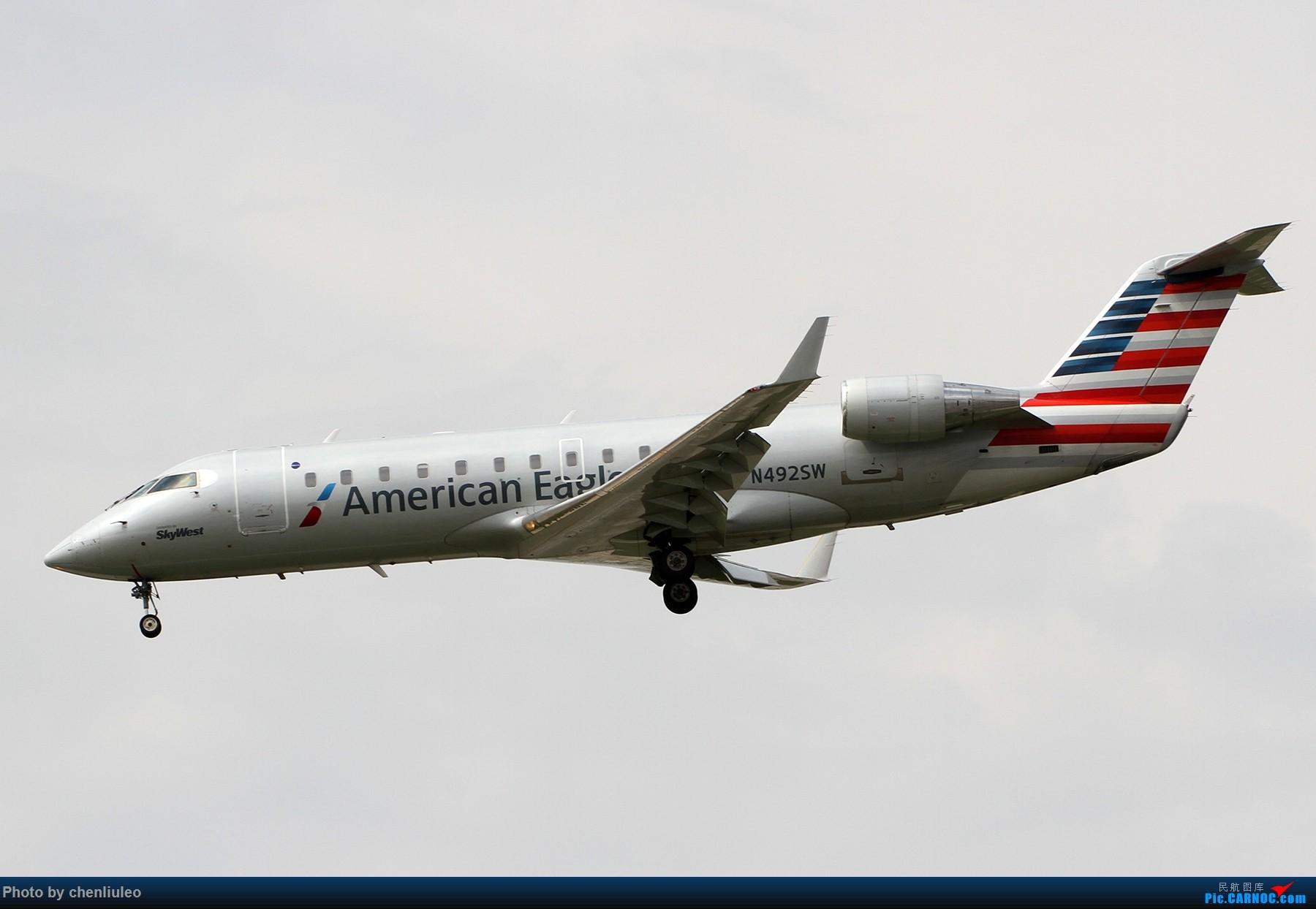 Re:[原创]【北美飞友会】芝加哥奥黑尔机场首拍 BOMBARDIER CRJ-100 N492SW 美国芝加哥奥黑尔国际机场