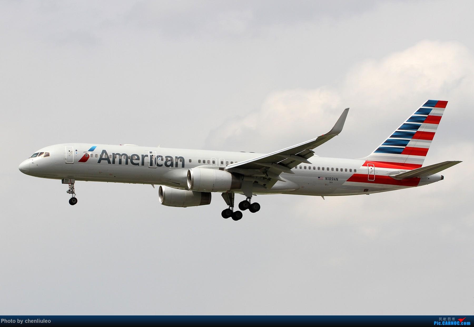 Re:[原创]【北美飞友会】芝加哥奥黑尔机场首拍 BOEING 757-200 N189AN 美国芝加哥奥黑尔国际机场
