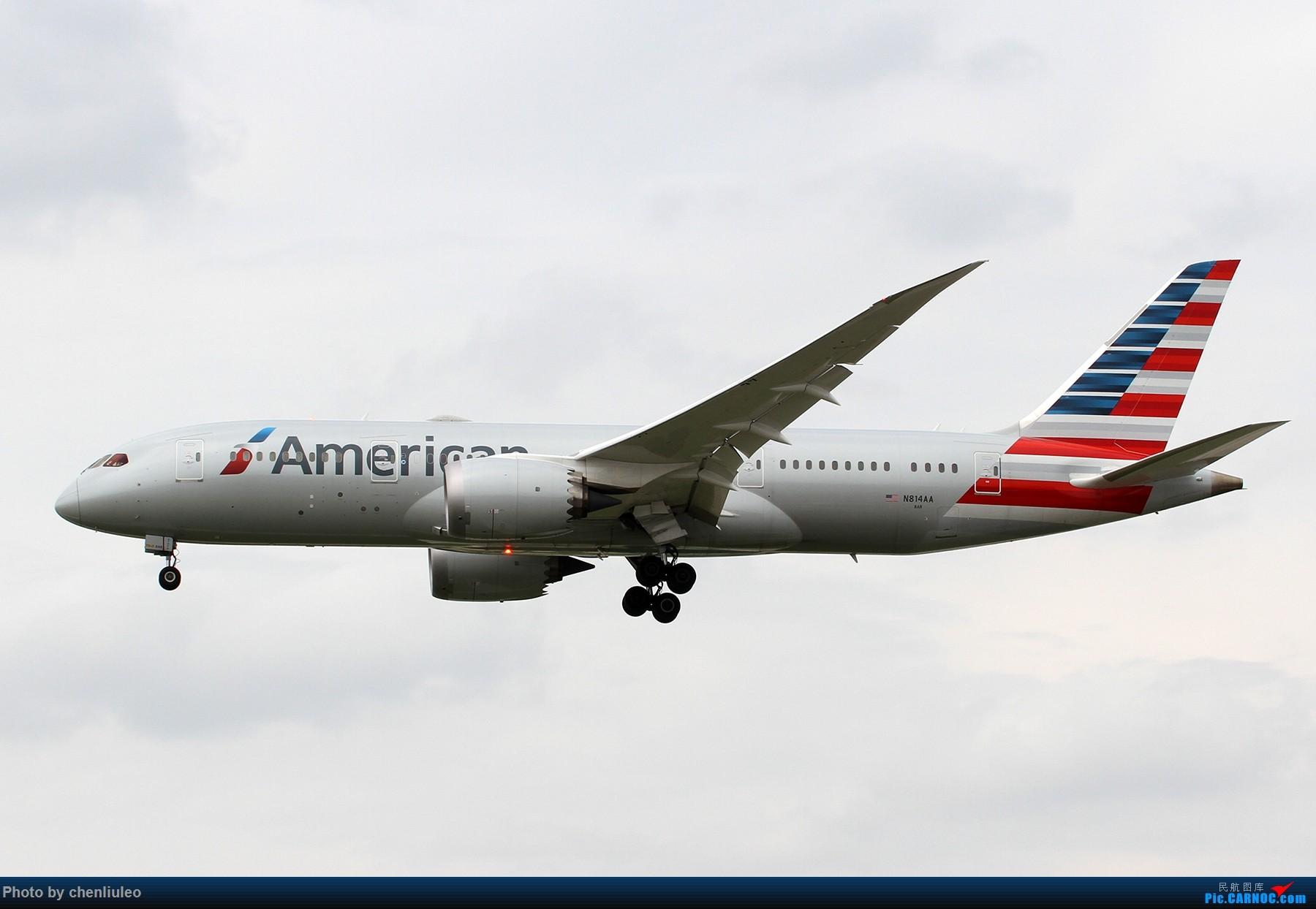 Re:[原创]【北美飞友会】芝加哥奥黑尔机场首拍 BOEING 787-8 N814AA 美国芝加哥奥黑尔国际机场