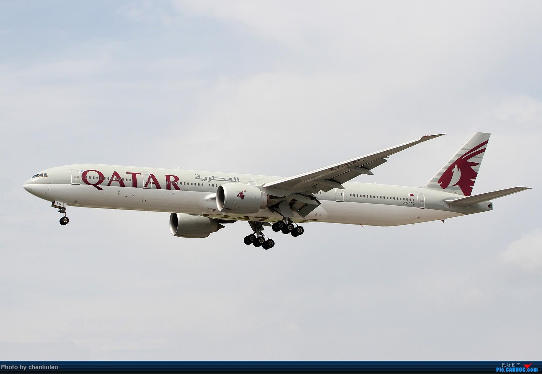 Re:[原创]【北美飞友会】芝加哥奥黑尔机场首拍 BOEING 777-300ER A7-BAC 美国芝加哥奥黑尔国际机场