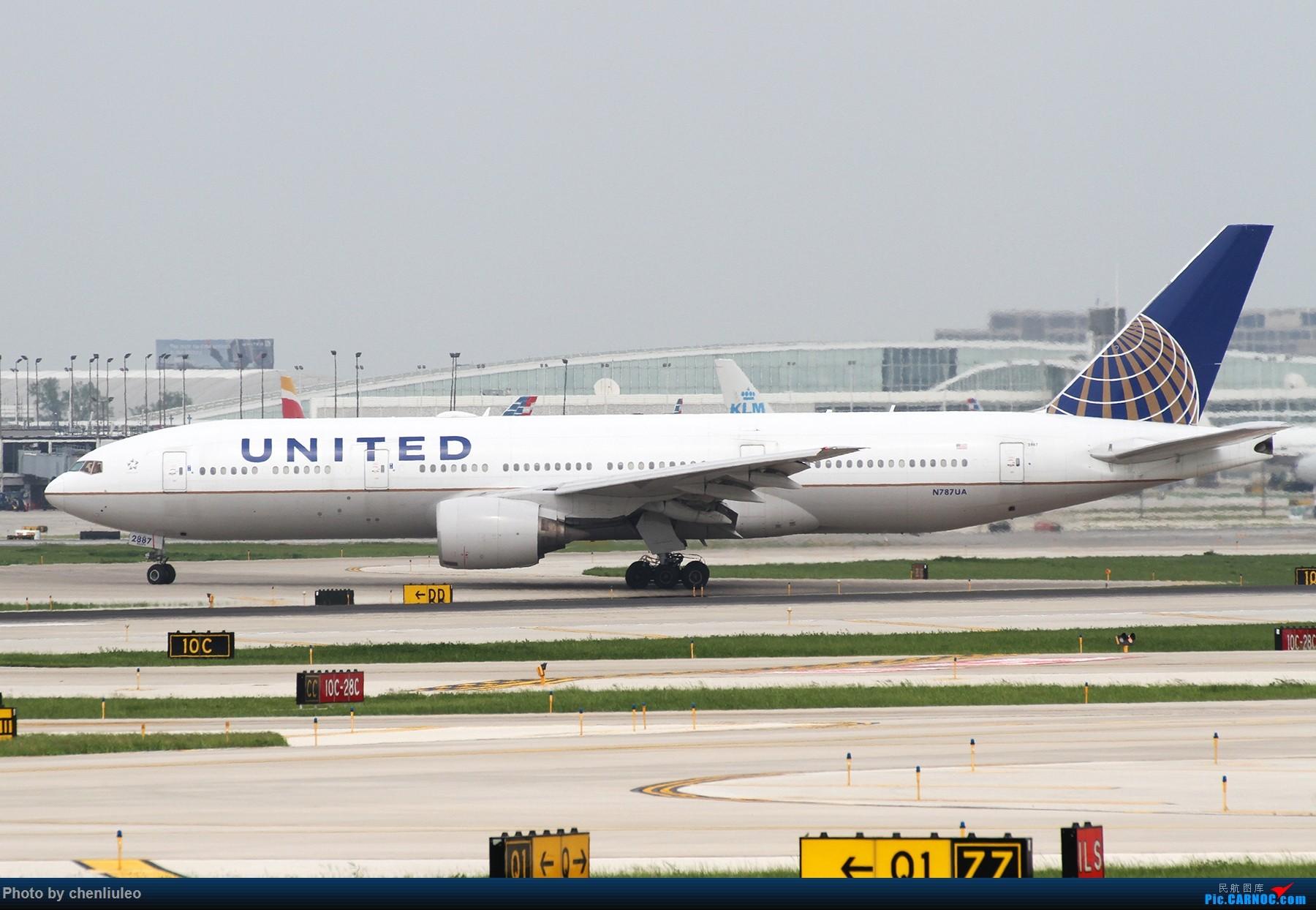Re:[原创]【北美飞友会】芝加哥奥黑尔机场首拍 BOEING 777-200ER N787UA 美国芝加哥奥黑尔国际机场