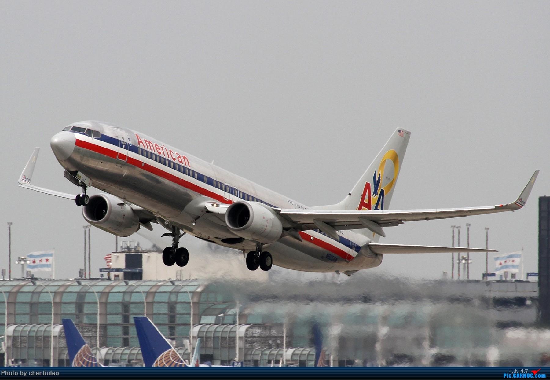 Re:[原创]【北美飞友会】芝加哥奥黑尔机场首拍 BOEING 737-800 N905AN 美国芝加哥奥黑尔国际机场