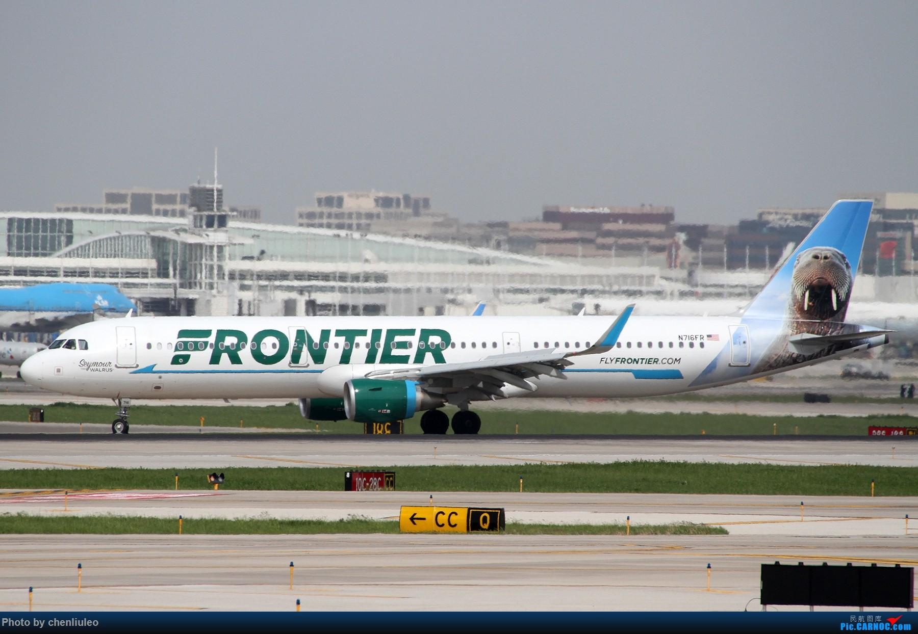 Re:[原创]【北美飞友会】芝加哥奥黑尔机场首拍 AIRBUS A321-200 N716FR 美国芝加哥奥黑尔国际机场