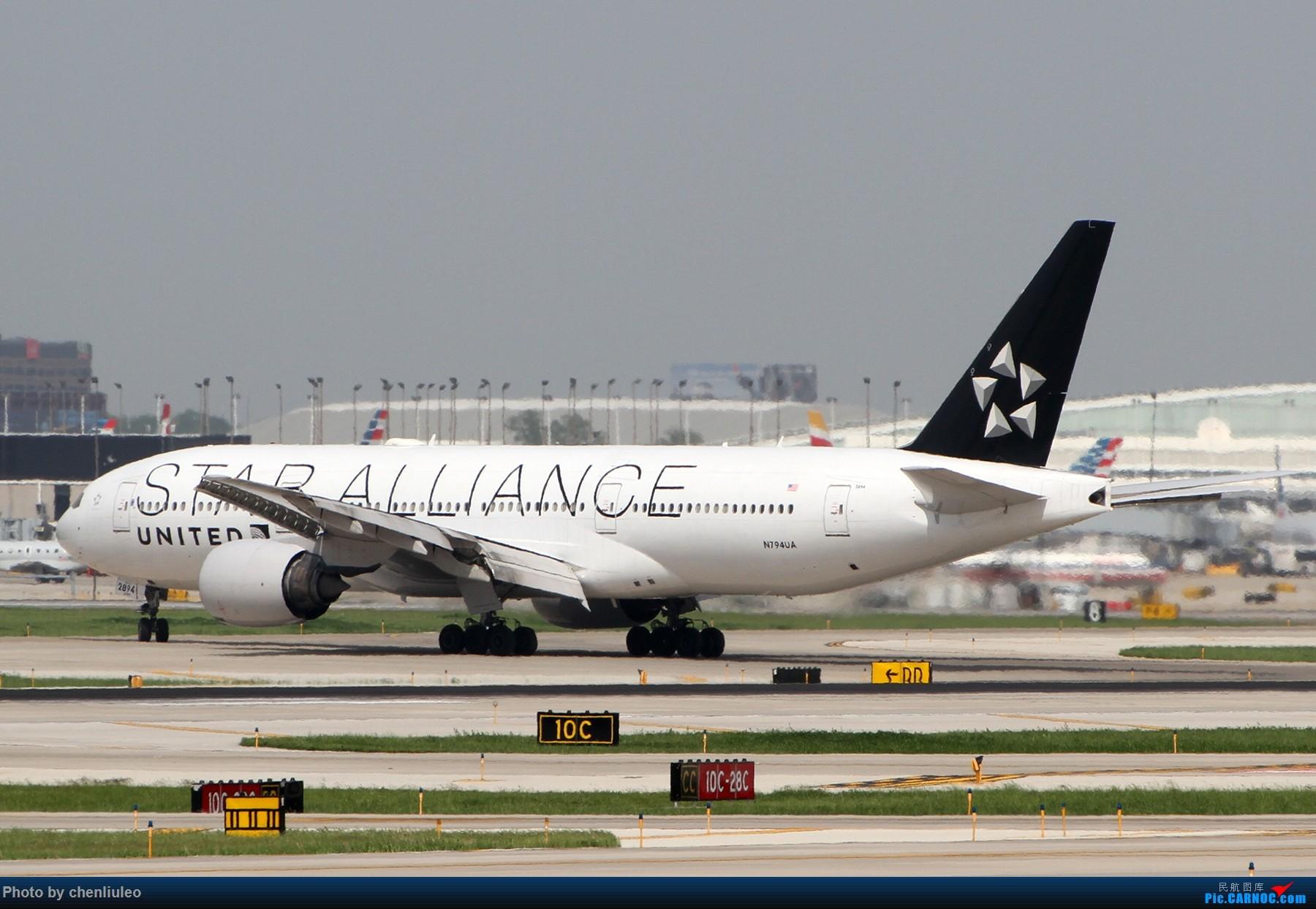 Re:[原创]【北美飞友会】芝加哥奥黑尔机场首拍 BOEING 777-200ER N794UA 美国芝加哥奥黑尔国际机场