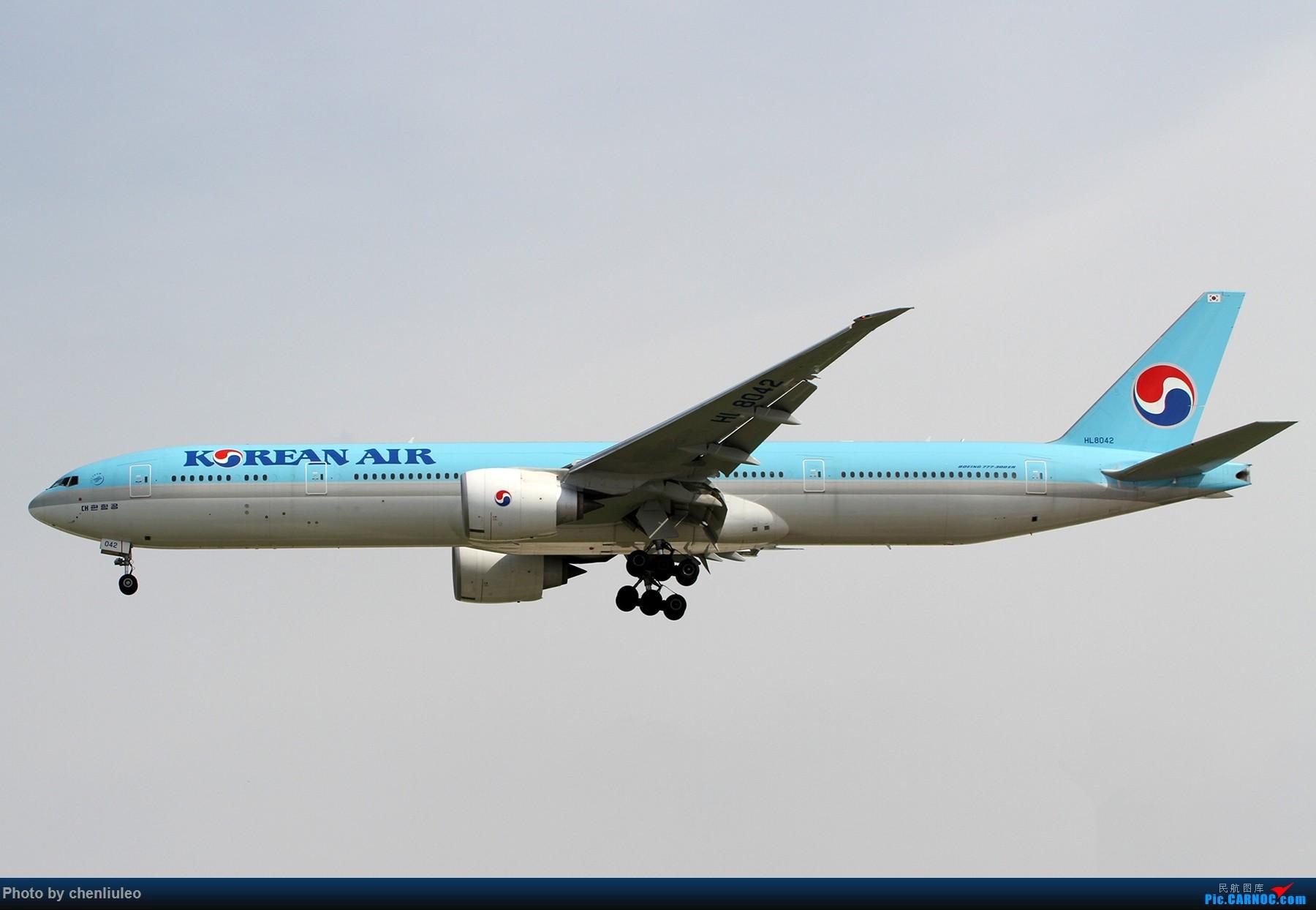 Re:[原创]【北美飞友会】芝加哥奥黑尔机场首拍 BOEING 777-300ER HL8042 美国芝加哥奥黑尔国际机场