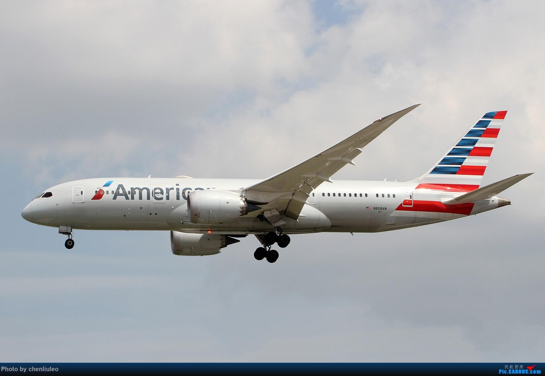 Re:[原创]【北美飞友会】芝加哥奥黑尔机场首拍 BOEING 787-8 N808AN 美国芝加哥奥黑尔国际机场