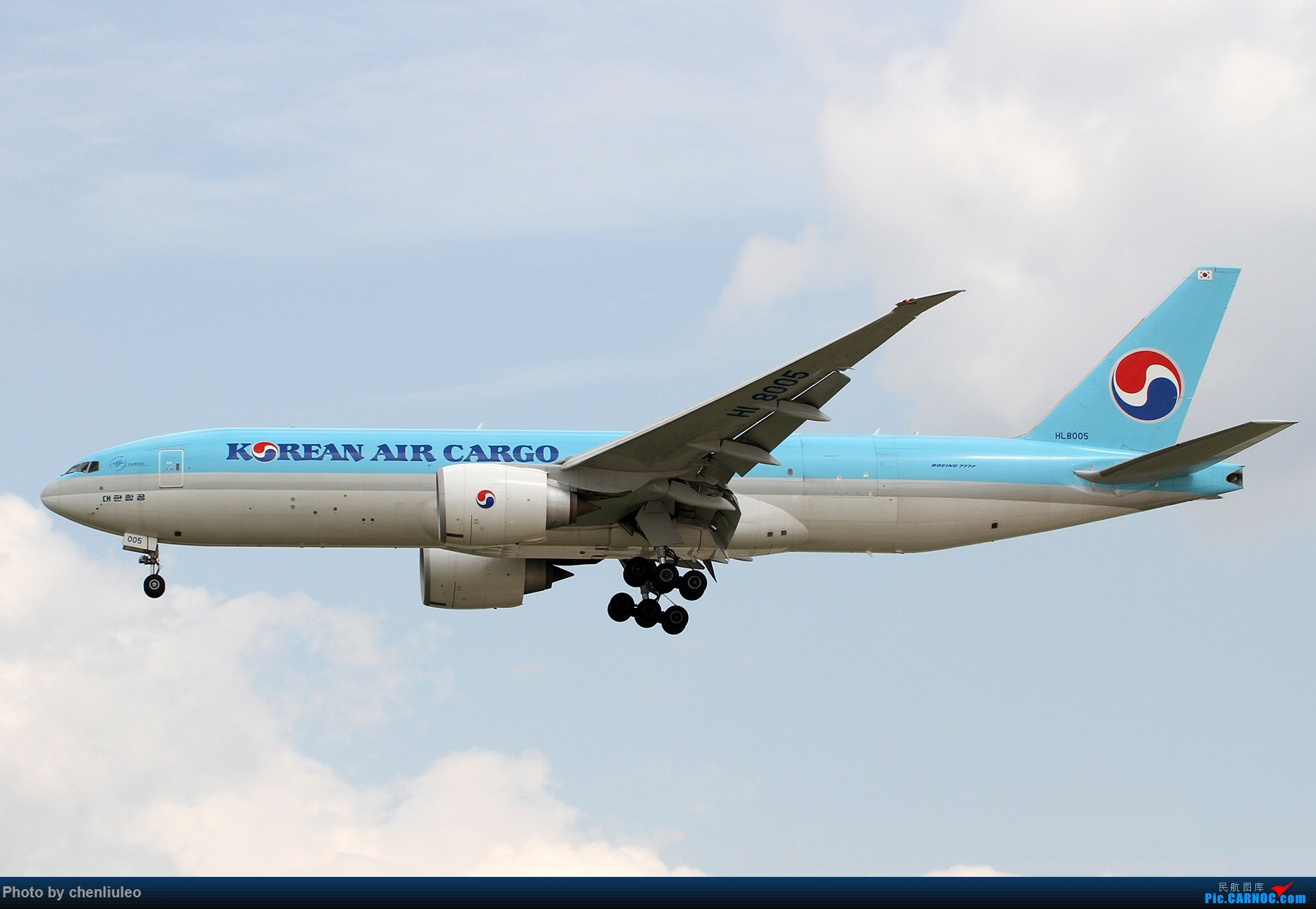 Re:[原创]【北美飞友会】芝加哥奥黑尔机场首拍 BOEING 777F HL8005 美国芝加哥奥黑尔国际机场