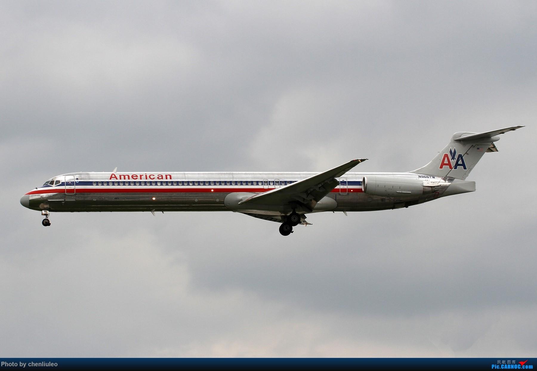 Re:[原创]【北美飞友会】芝加哥奥黑尔机场首拍 MD MD-80-83 N966TW 美国芝加哥奥黑尔国际机场