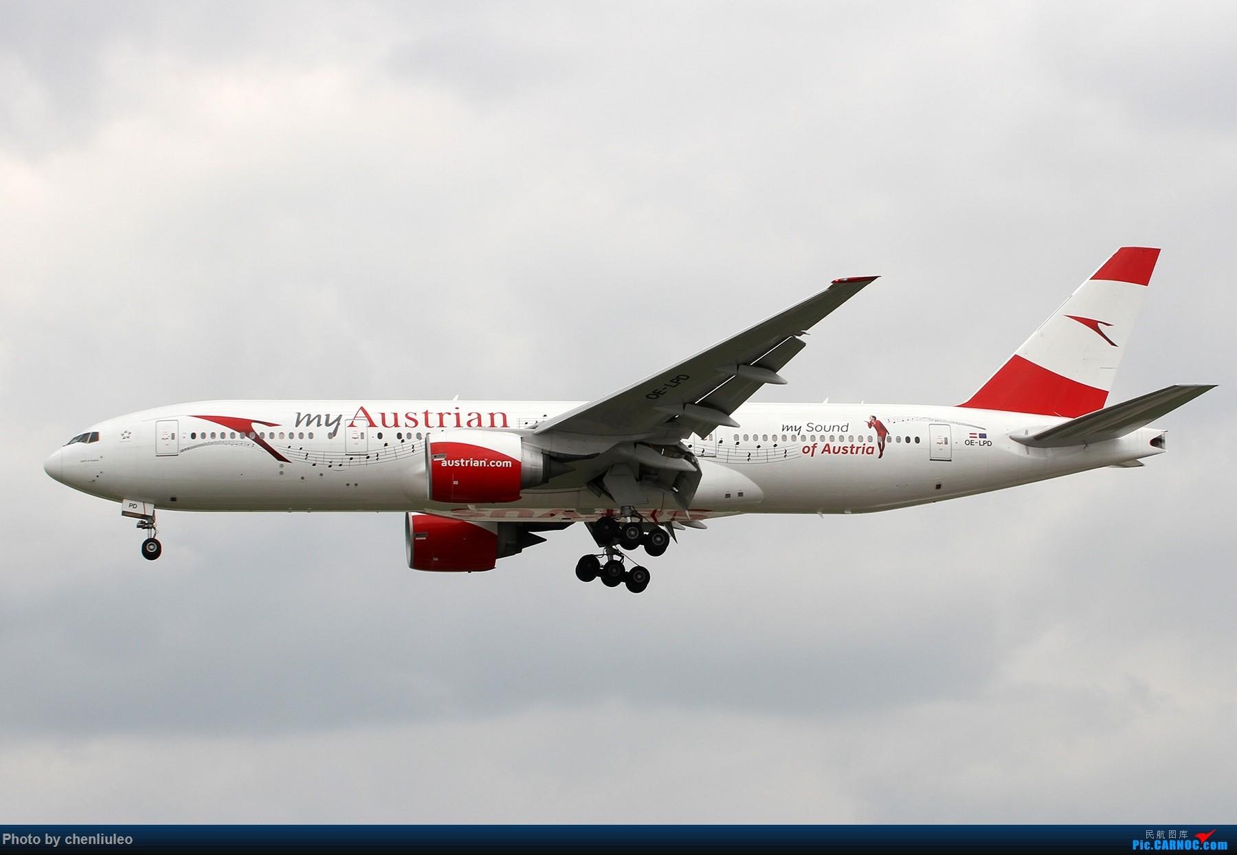 Re:[原创]【北美飞友会】芝加哥奥黑尔机场首拍 BOEING 777-200ER OE-LPD 美国芝加哥奥黑尔国际机场