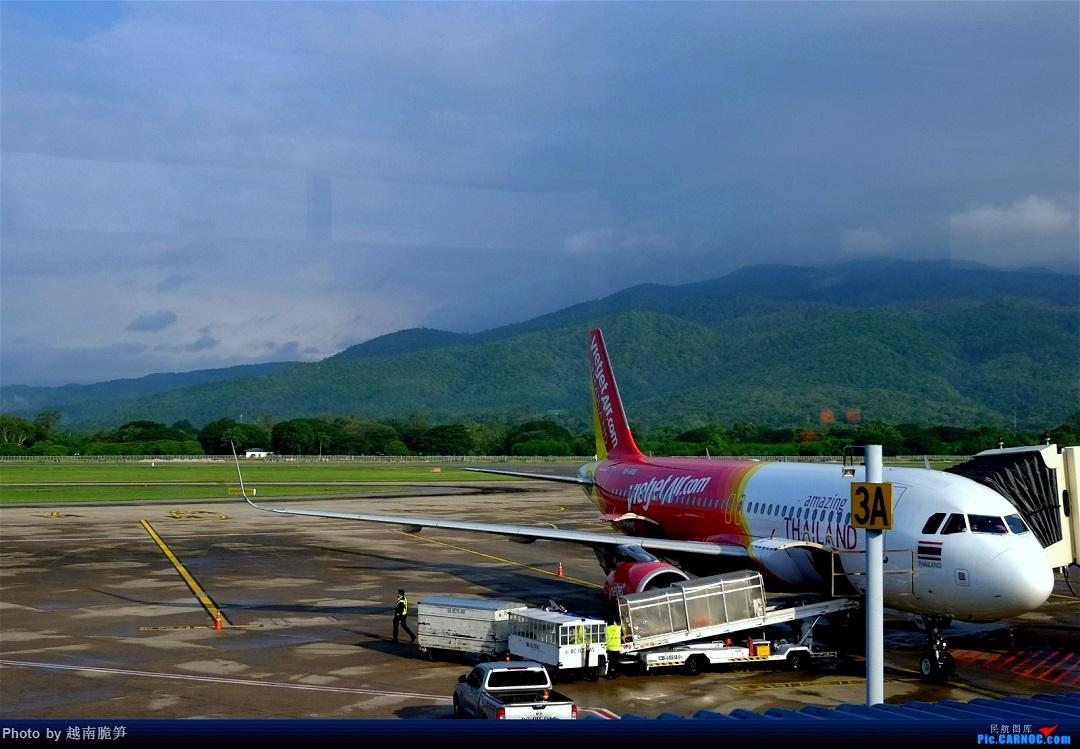 [原创]体验皇家风兰,领略泰航魅力(CNX—BKK) AIRBUS A320-200  泰国清迈国际机场
