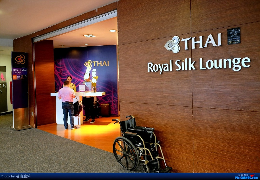Re:[原创]体验皇家风兰,领略泰航魅力(CNX—BKK)    泰国清迈国际机场