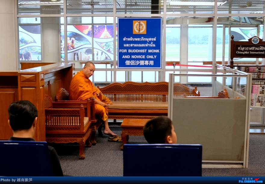 Re:[原创]体验皇家风兰,领略泰航魅力(CNX—BKK) AIRBUS A320-200   泰国清迈国际机场