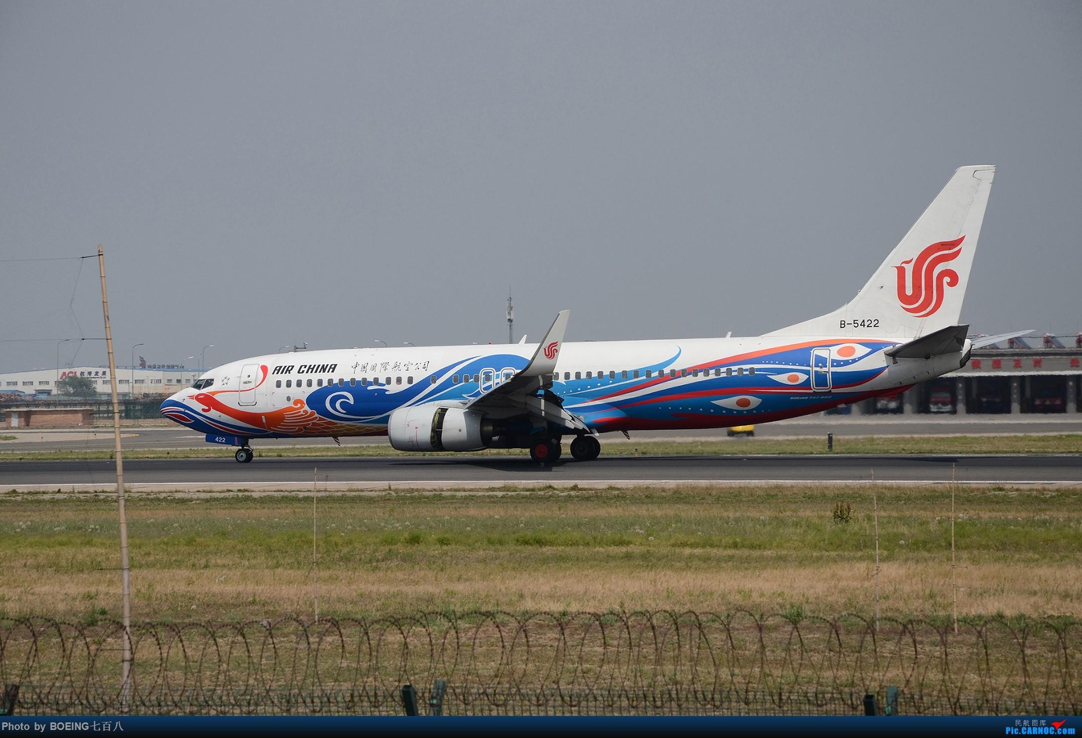 Re:[原创]海航家的黄焖熊猫和清蒸熊猫等好货 BOEING 737-800 B-5422 中国北京首都国际机场