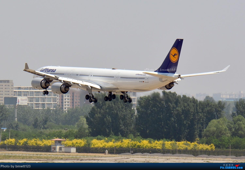 Re:[原创]【PEK】东跑出发桥,观看汉莎宽体A346进场与A388离场 AIRBUS A346 D-AIHU 中国北京首都国际机场