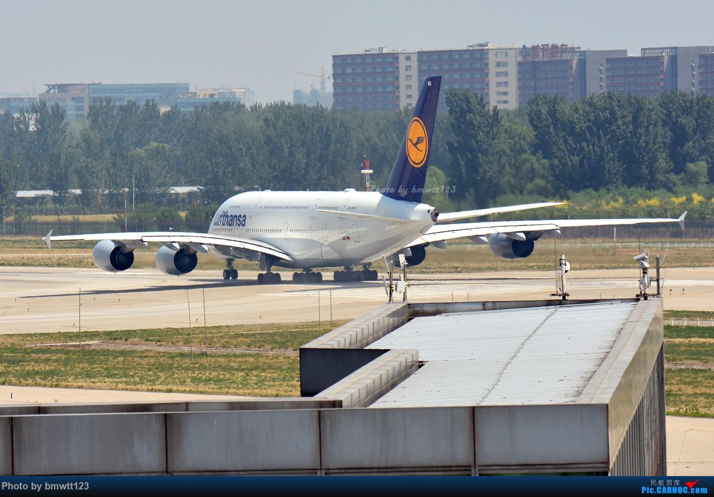 Re:[原创]【PEK】东跑出发桥,观看汉莎宽体A346进场与A388离场 AIRBUS A388 D-AIMB 中国北京首都国际机场