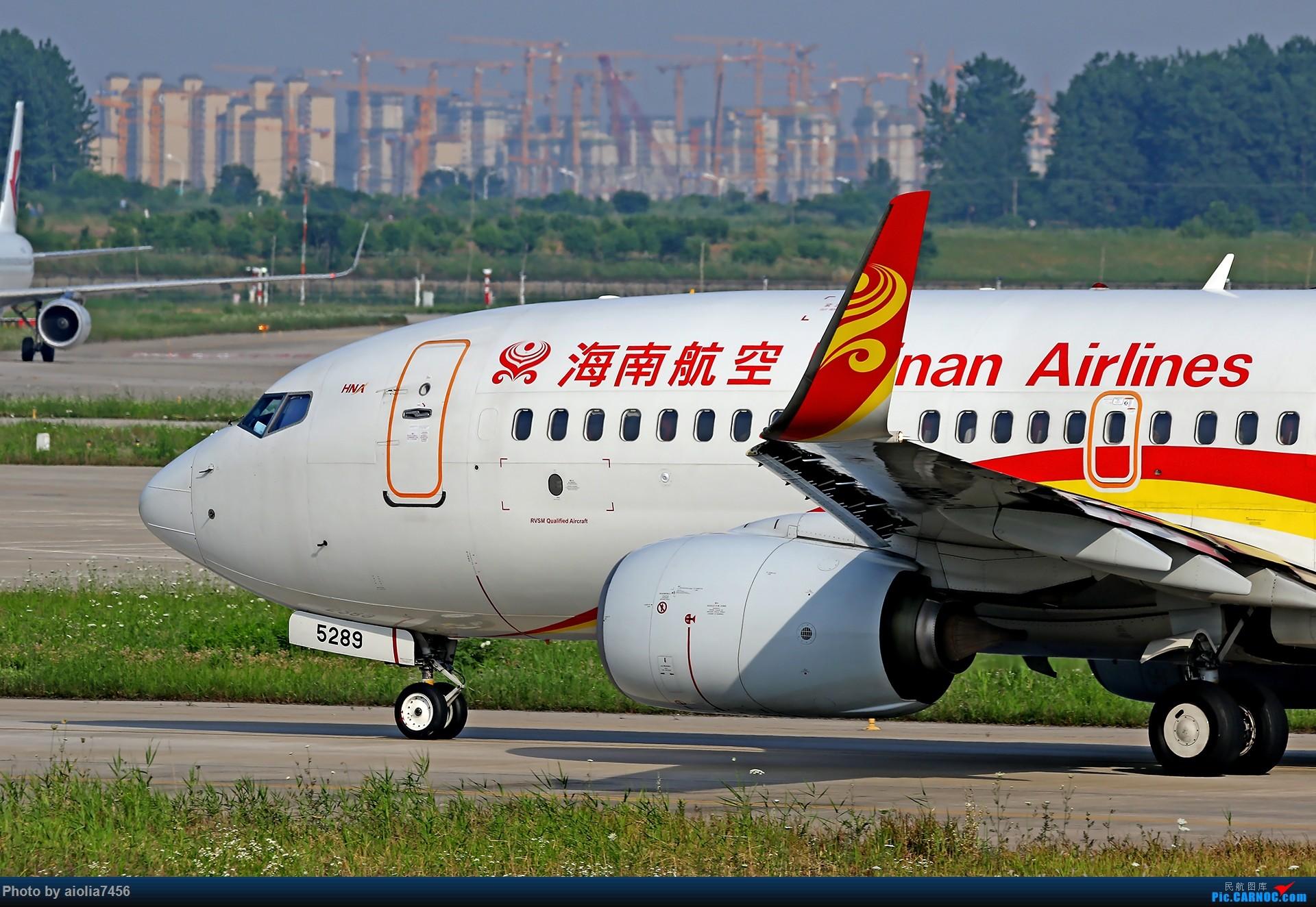 Re:[原创]【霸都打鸡队】F4新桥拍机!(爆人) BOEING 737-700 B-5289 中国合肥新桥国际机场