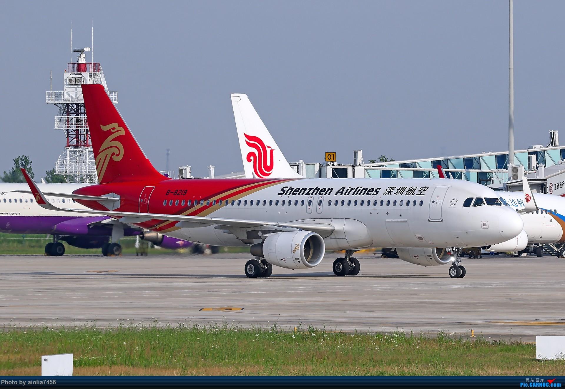 Re:[原创]【霸都打鸡队】F4新桥拍机!(爆人) AIRBUS A320-200 B-8219 中国合肥新桥国际机场