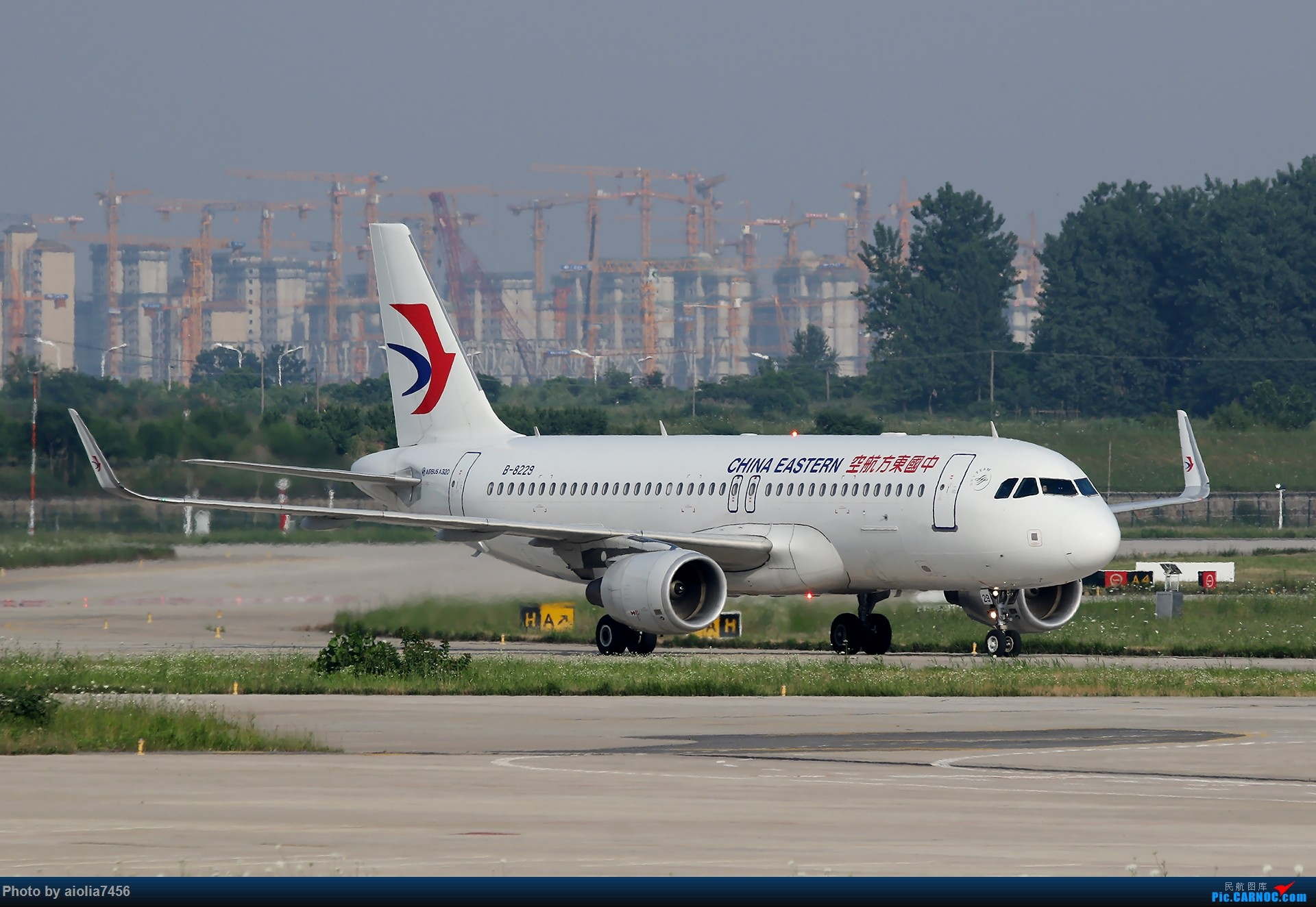 Re:[原创]【霸都打鸡队】F4新桥拍机!(爆人) AIRBUS A320-200 B-8229 中国合肥新桥国际机场