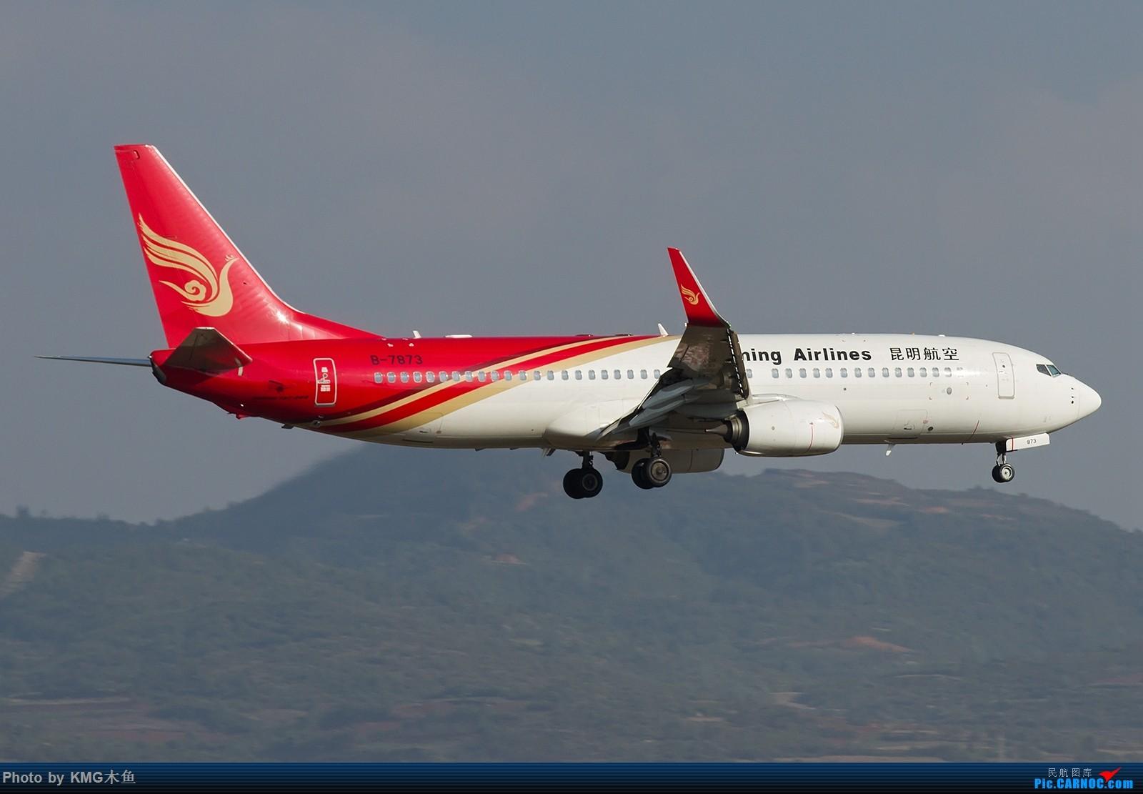 Re:[原创]【昆明长水国际机场——KMG木鱼拍机】向着功勋级出发,把库存图拿出来发了(高清大图) BOEING 737-800 B-7873 中国昆明长水国际机场
