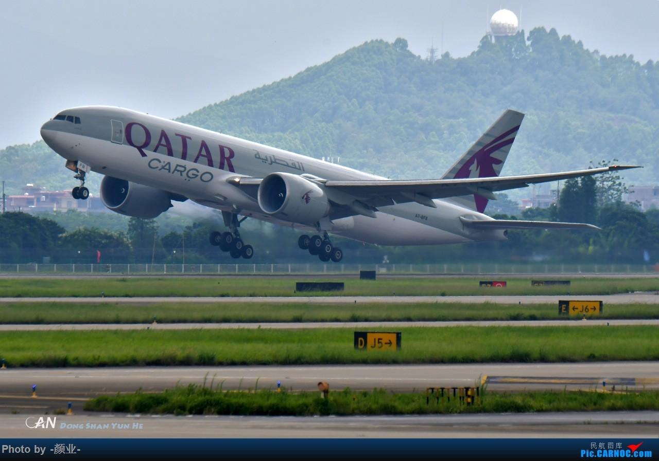 Re:[原创]ZGGG(广州CAN)的波音777系列-继续更新 BOEING 777-300 A7-BFB 中国广州白云国际机场