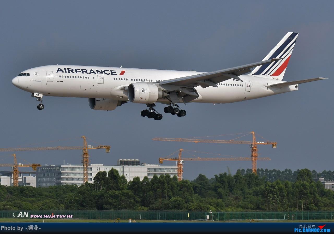 Re:[原创]ZGGG(广州CAN)的波音777系列-继续更新 BOEING 777-200ER F-GSPN 中国广州白云国际机场