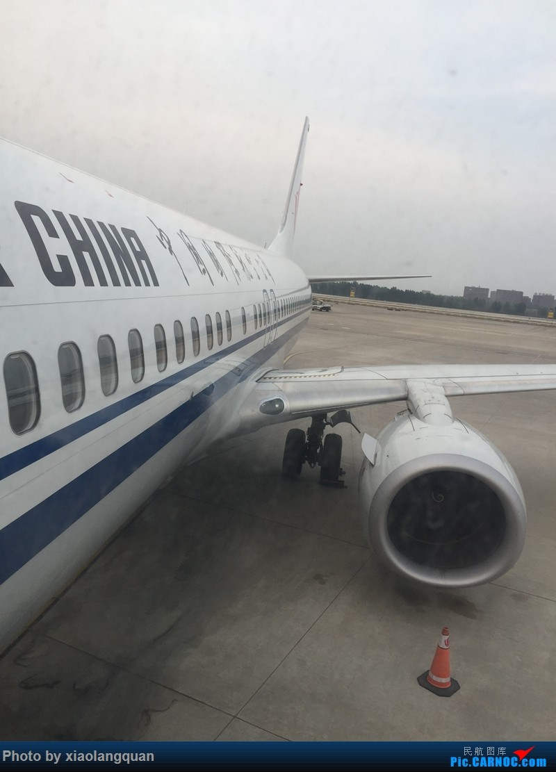 Re:[原创]CAN-PEK-GMP-PUS-PEK-CAN非常时期韩国之行全程擦航承运by772,738,77W(更新中) BOEING 737-800 B-1909 中国北京首都国际机场