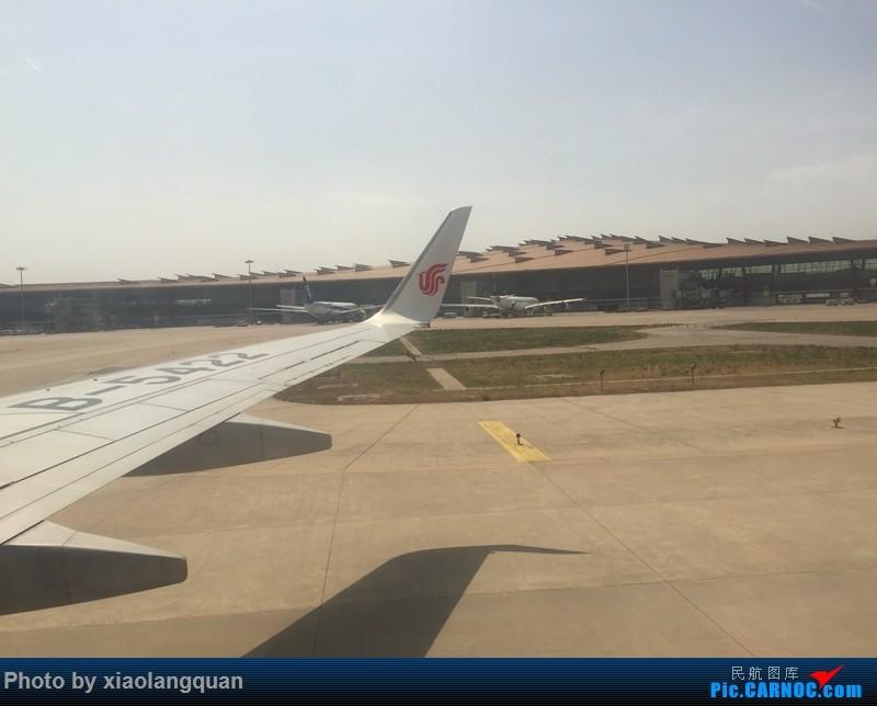 Re:[原创]CAN-PEK-GMP-PUS-PEK-CAN非常时期韩国之行全程擦航承运by772,738,77W(更新中) AIRBUS A340-300  中国北京首都国际机场