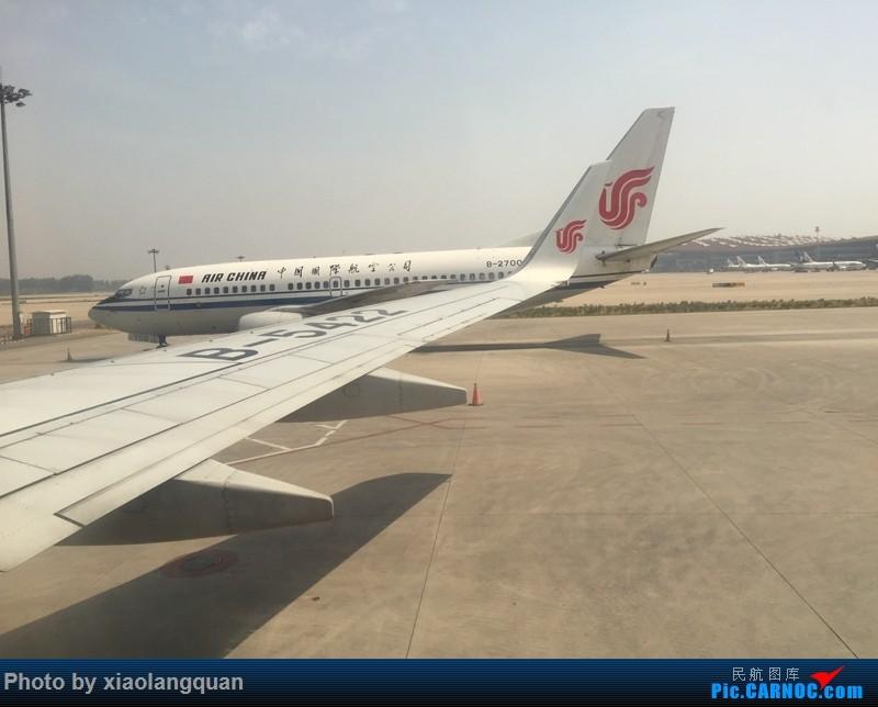 Re:[原创]CAN-PEK-GMP-PUS-PEK-CAN非常时期韩国之行全程擦航承运by772,738,77W(更新中) BOEING 737-700 B-2700 中国北京首都国际机场