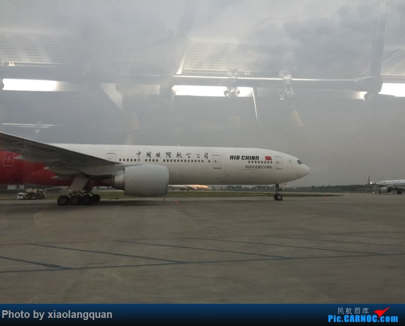 Re:CAN-PEK-GMP-PUS-PEK-CAN非常时期韩国之行全程擦航承运by772,738,77W(更新中) BOEING 777-300ER B-2047 中国北京首都国际机场