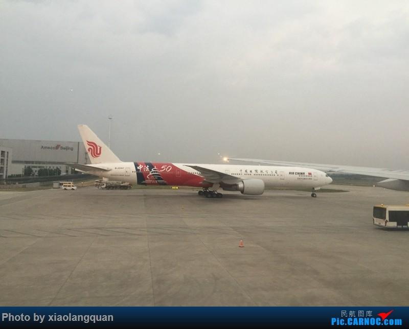Re:[原创]CAN-PEK-GMP-PUS-PEK-CAN非常时期韩国之行全程擦航承运by772,738,77W(更新中) BOEING 777-300ER B-2047 中国北京首都国际机场