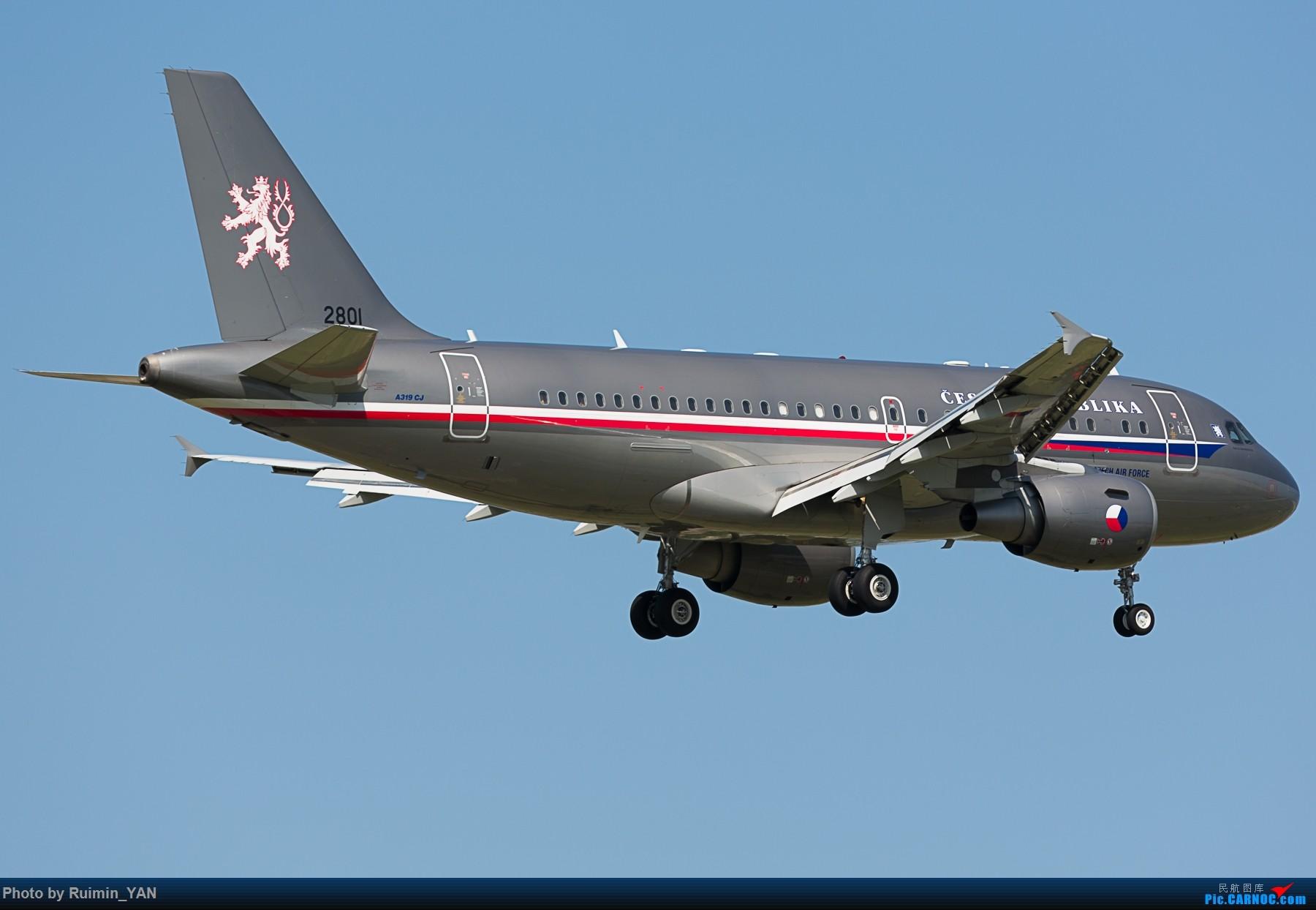 Re:[原创]【PEK】【砖机】捷克总统泽曼访华 捷克空军(Czech Air Force) A319CJ AIRBUS A319-115CJ AIRBUS A319-115CJ 2801 中国北京首都国际机场