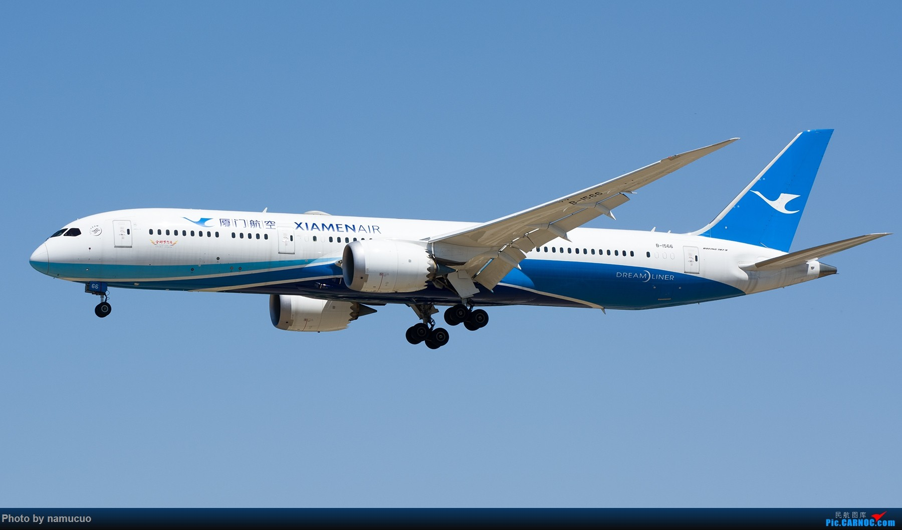 Re:[原创]【PEK】拍到的787合集(仅国内)29架 BOEING 787-9 B-1566