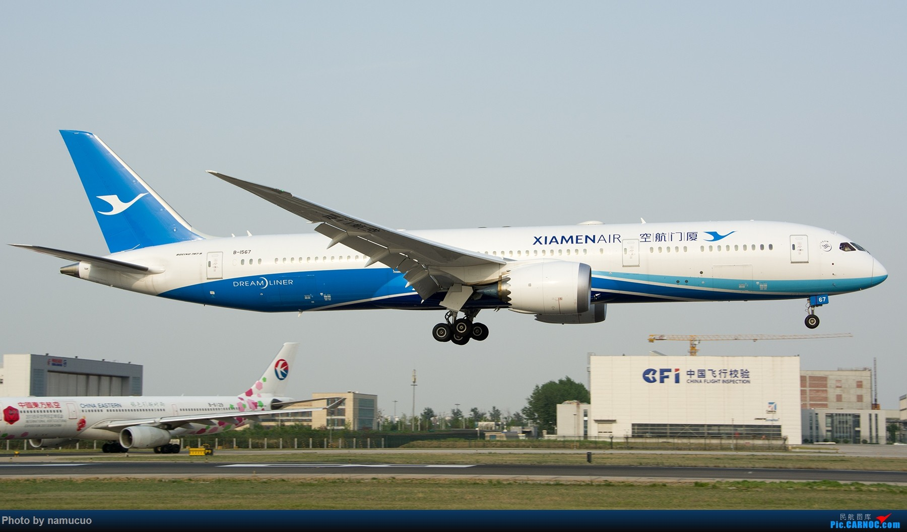 Re:[原创]【PEK】拍到的787合集(仅国内)29架 BOEING 787-9 B-1567