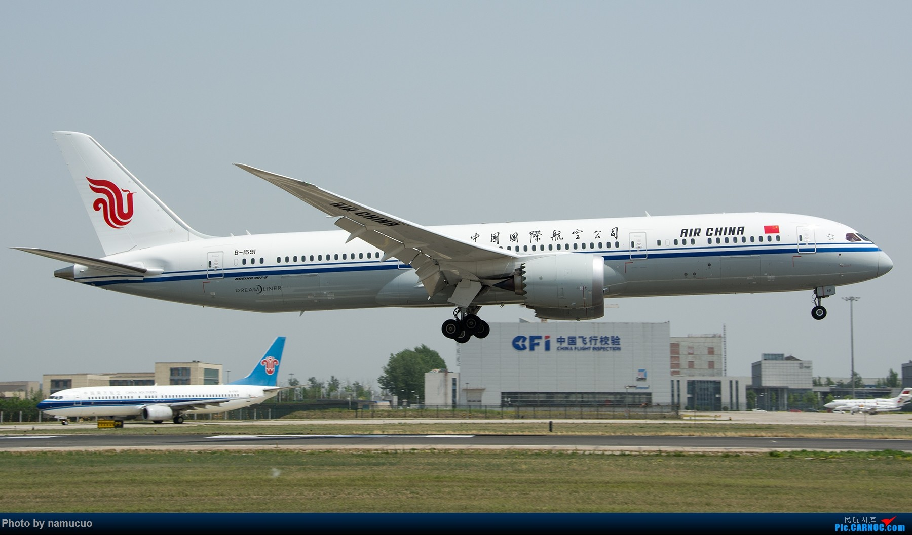 Re:[原创]【PEK】拍到的787合集(仅国内)29架 BOEING 787-9 B-1591