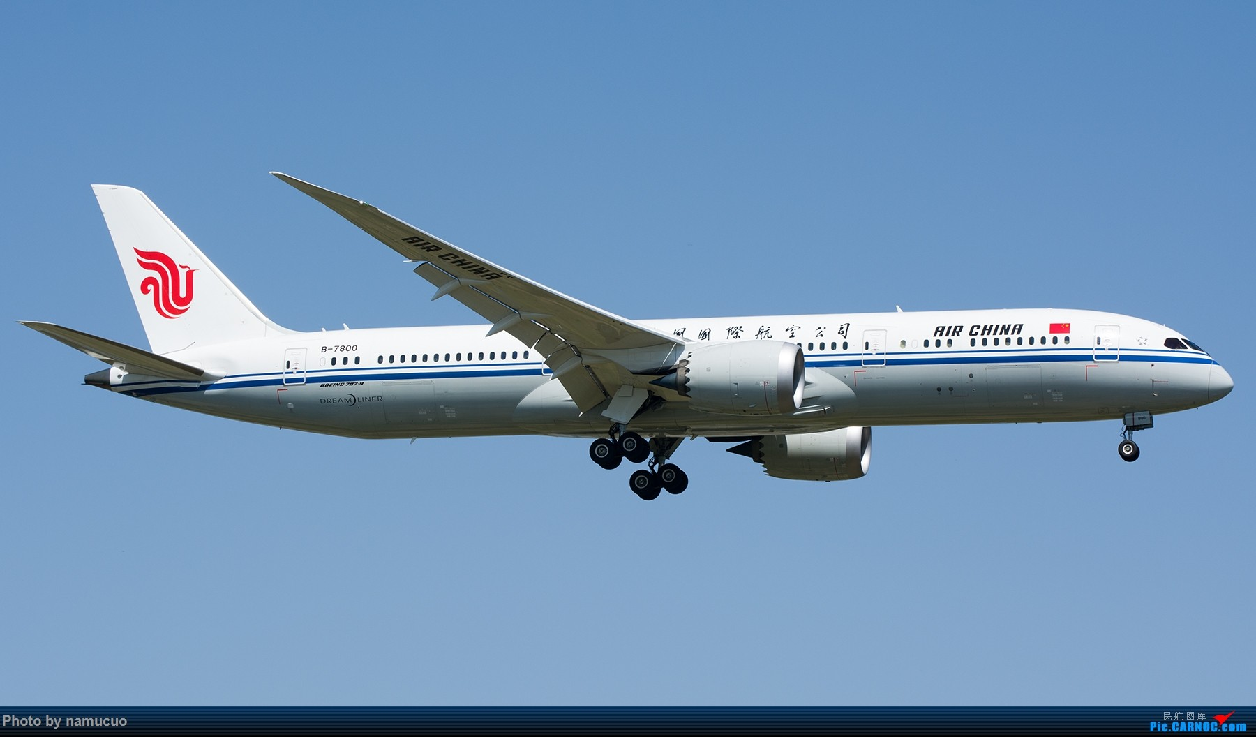 Re:[原创]【PEK】拍到的787合集(仅国内)29架 BOEING 787-9 B-7800