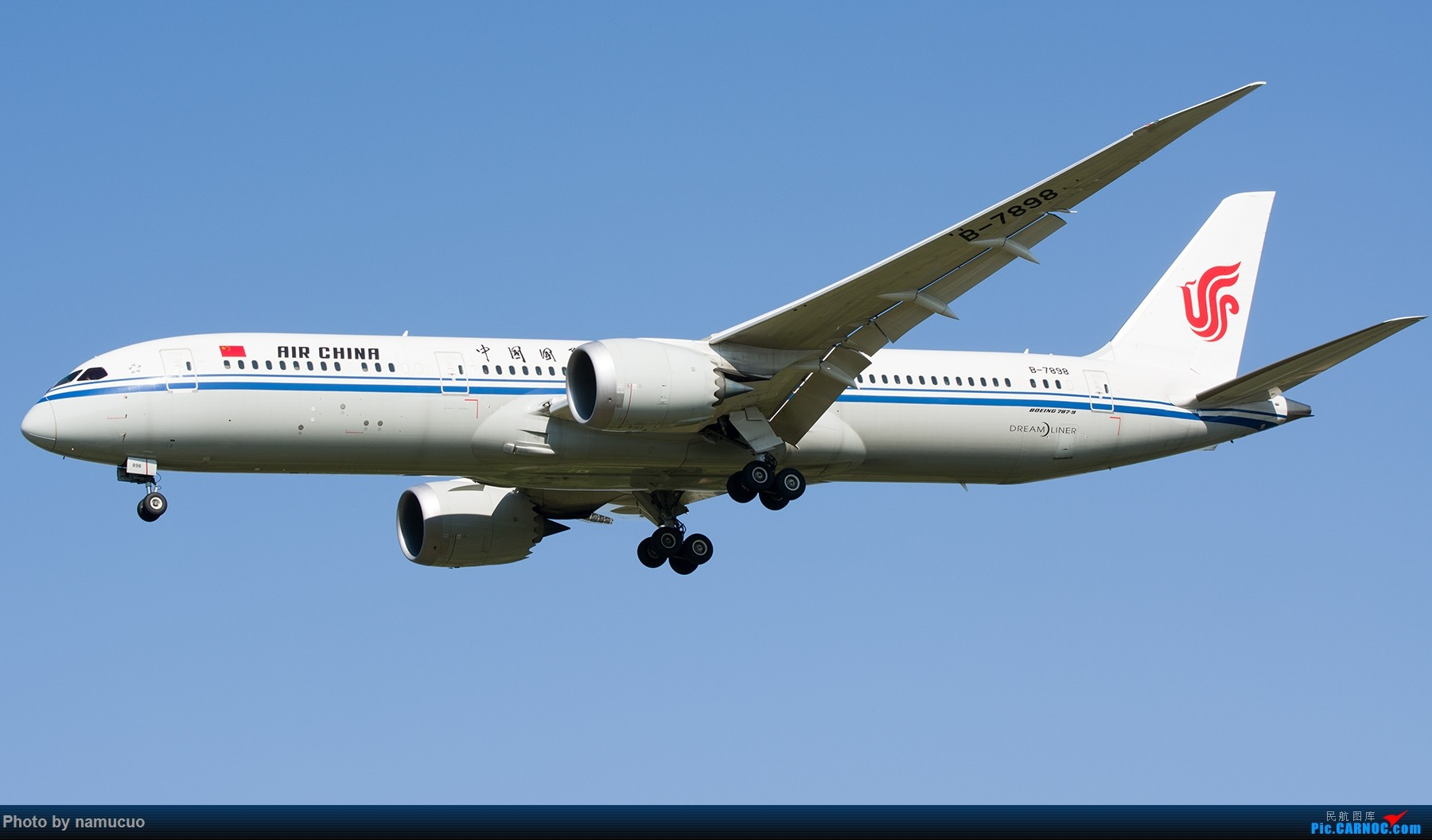 Re:[原创]【PEK】拍到的787合集(仅国内)29架 BOEING 787-9 B-7898