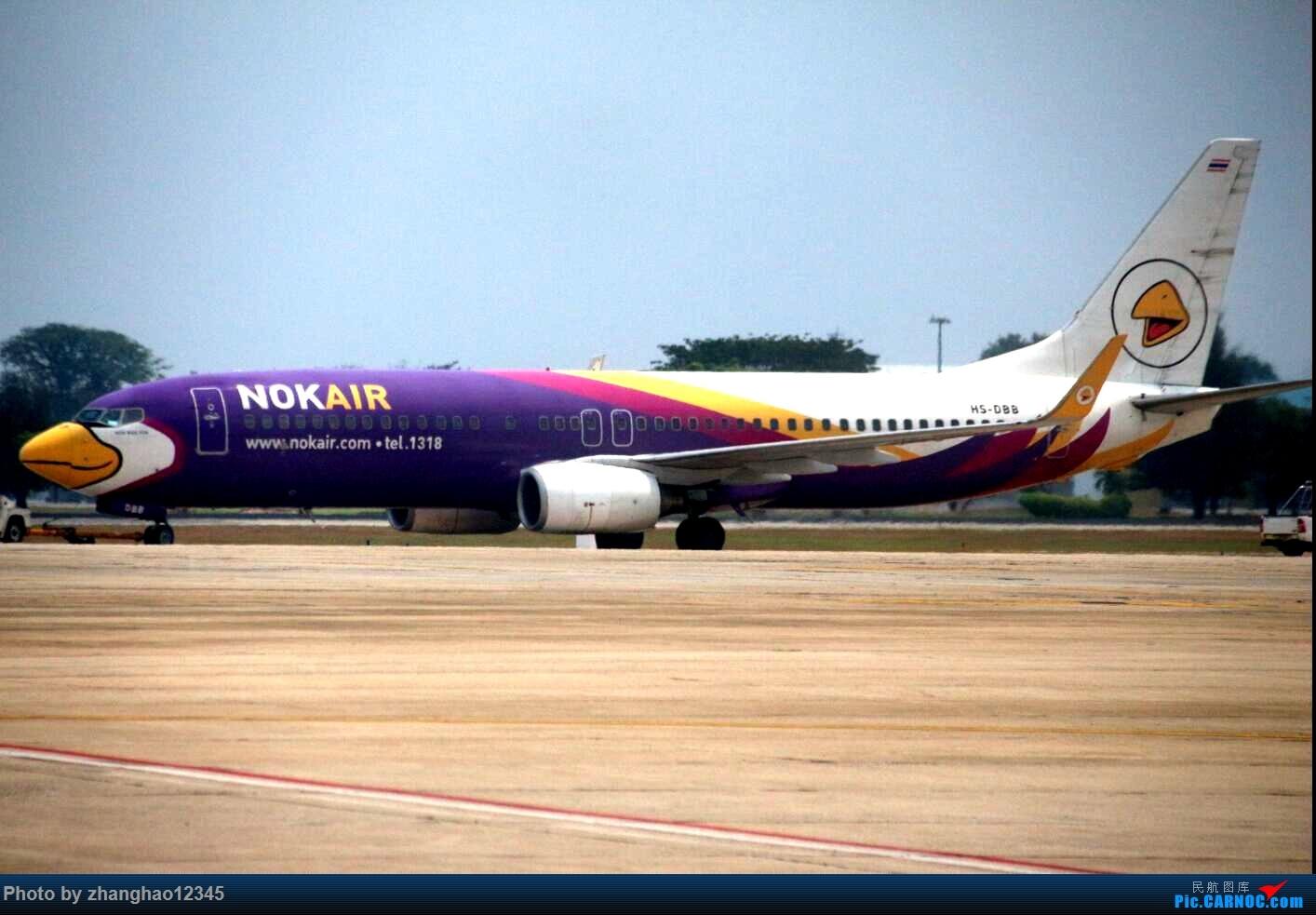 Re:泰国飞鸟航空 BOEING 737-800 HS-DBB 廊曼机场
